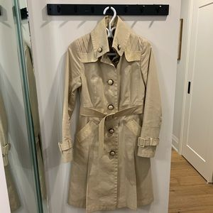 MACKAGE Trench Coat Size Small